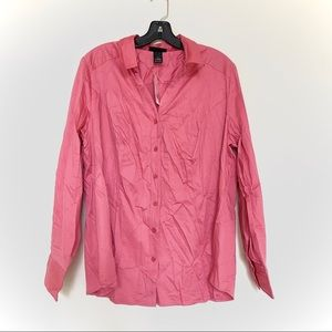 LANE BRYANT BUTTON DOWN SHIRT NWT SIZE 18